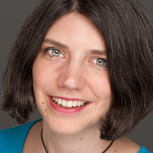 Suzanne Hazelton - informal picture