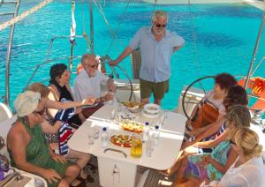 Skyros Holidays - Suzanne Hazelton - Boat trip